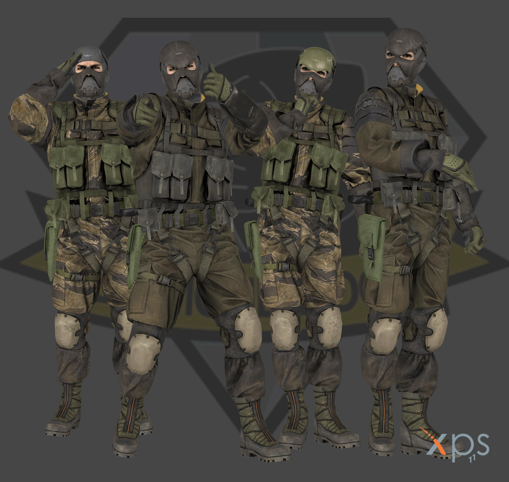 mgsv the phantom pain diamond dogs assault pack by