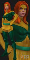 MCoC Jean Grey (Marvel Girl) by thePWA