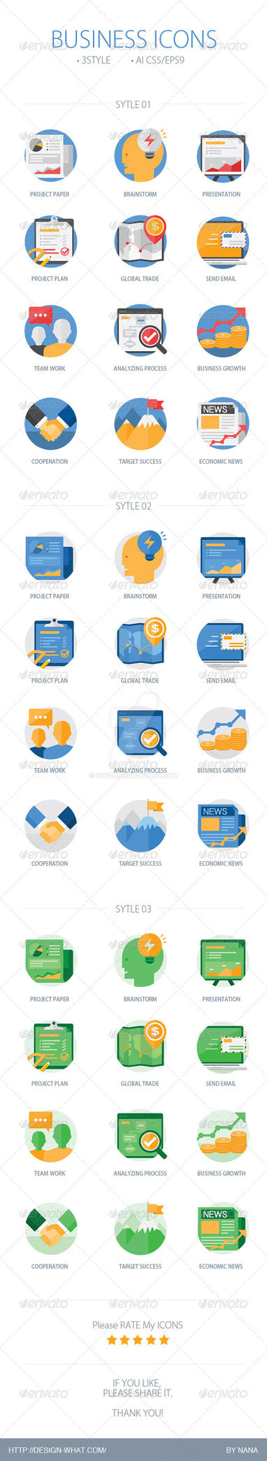 Business Icons by 90Box