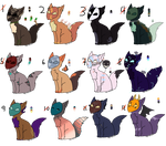 10 point masked foxes [3/12 OPEN] by Tigey-Adoptables