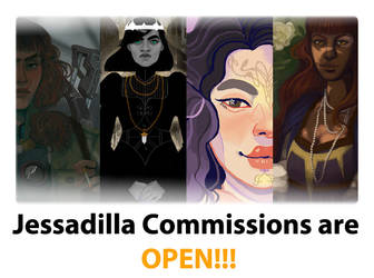 Commissions Open by jessadilla