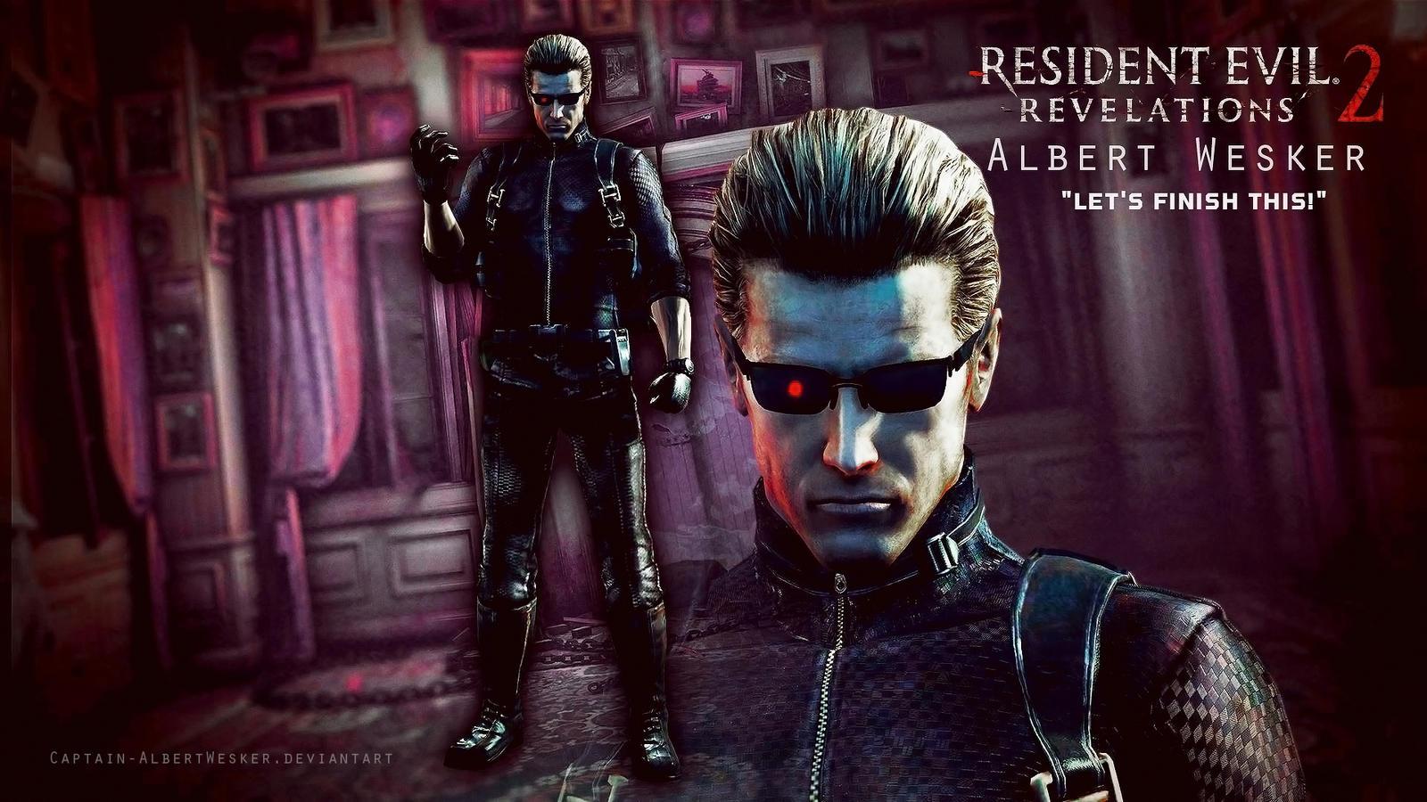 Re Revelations 2 Albert Wesker Wallpaper By Captain Albertwesker