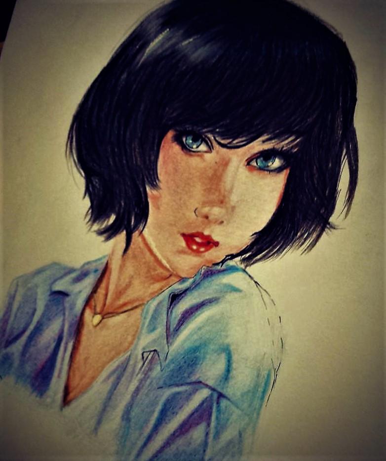 Girl by EimanSeleem