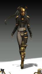 Shadow Warrior 2: Acolyte by Harpiya