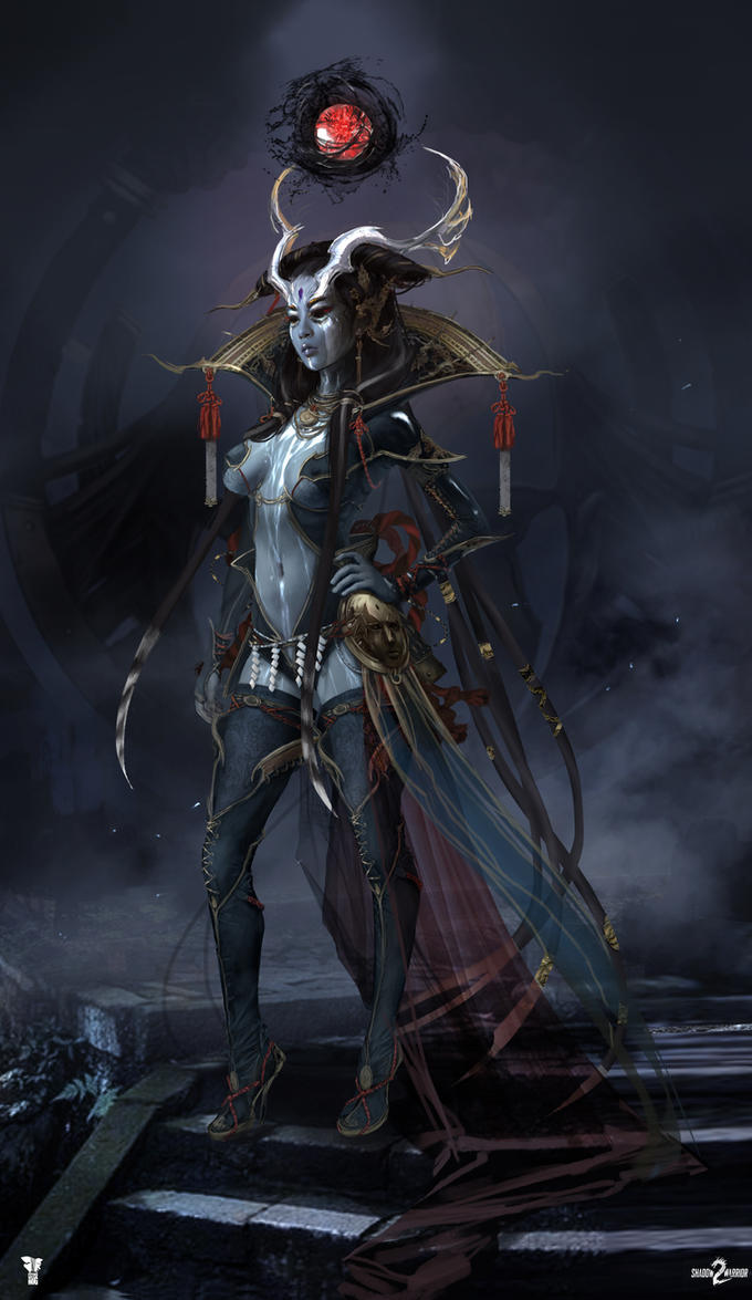 Shadow Warrior 2 Ameonna By Harpiya On Deviantart
