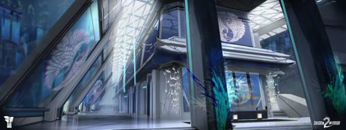 Shadow Warrior 2: Kamiko's apartment - lobby by Harpiya