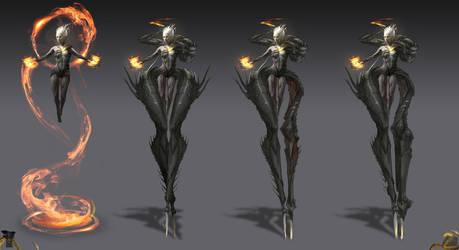 Shadow Warrior 2: corrupted v2 by Harpiya