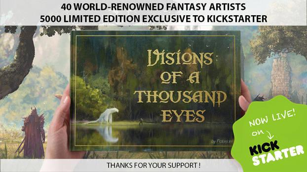 Visions of a Thousand Eyes -  Kickstarter Campaign by Harpiya