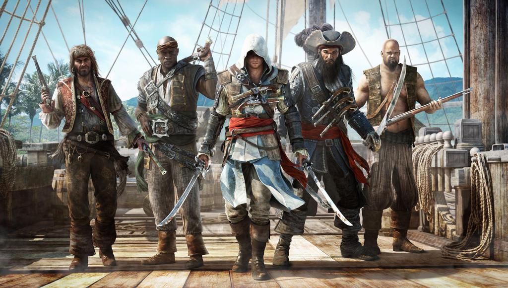 Assassin S Creed Iv Black Flag Hd Wallpaper By Dom098652 On Deviantart