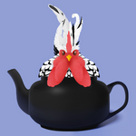 Teapot the Chicken by Mary-fflufybird