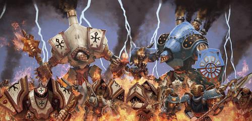 Burn the heretic by kabarsa
