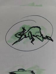 Alien Cat 1 by xsycogoat