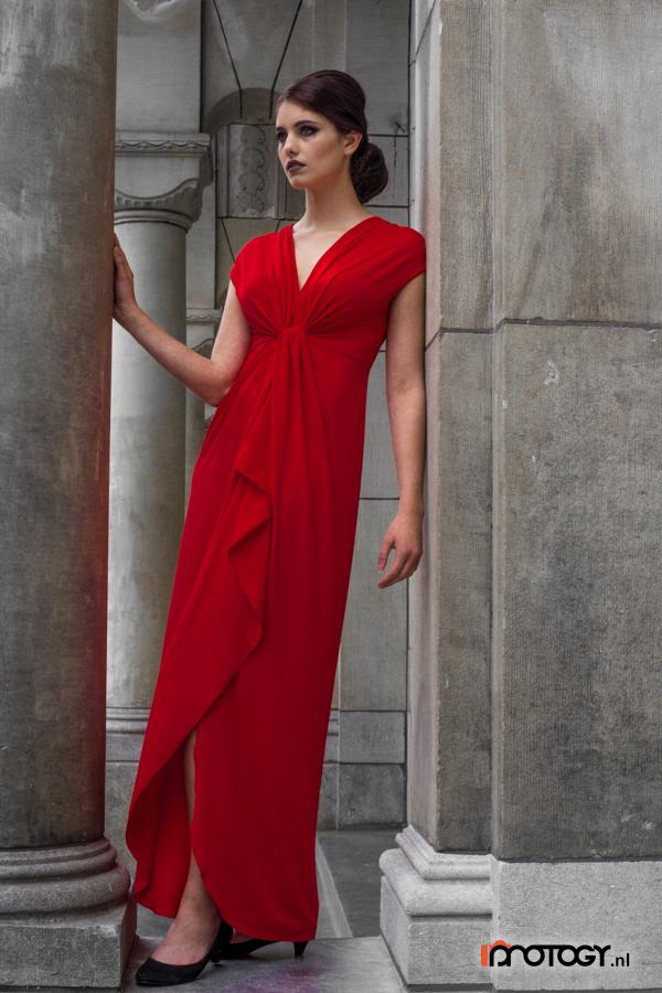 Red-Dress-Urban-WM-900-27 by AnnopCatsman
