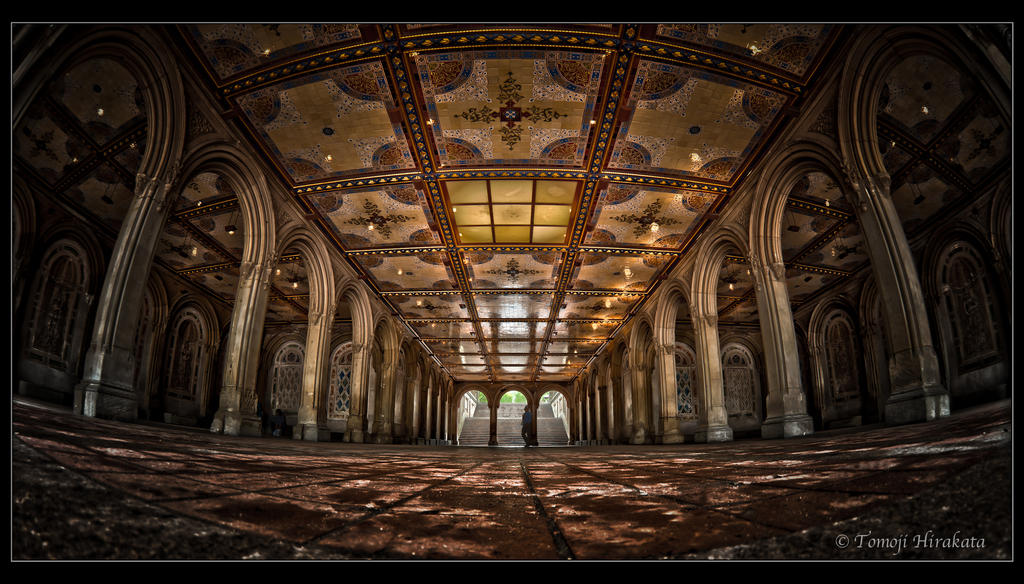 Bethesda Terrace by Tomoji-ized