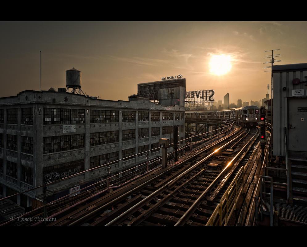 Subway - NYC by Tomoji-ized