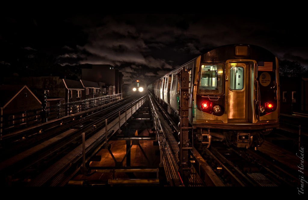 night train by Tomoji-ized
