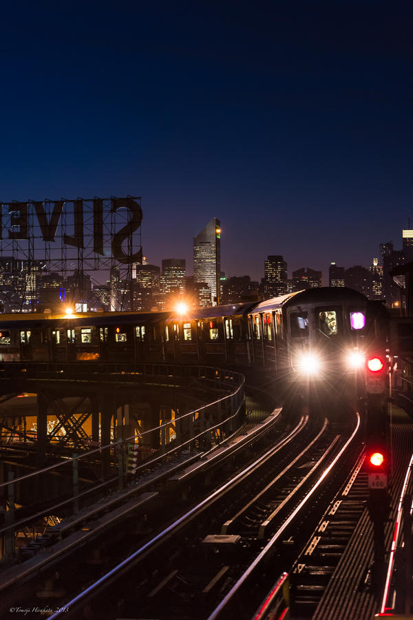 NYC Subway by Tomoji-ized