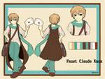 Character Sheet 3: Faust C. Knox