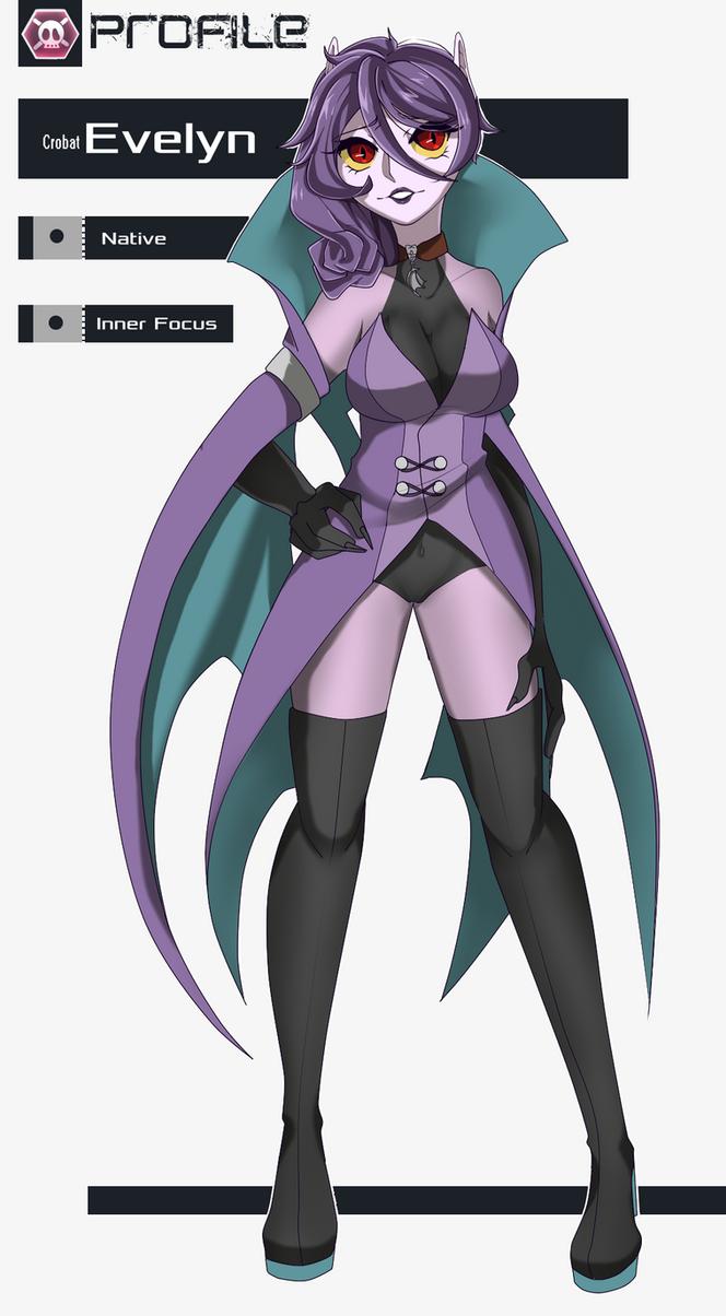 Nuzlocke Character Sheet: Evelyn by BeatrixTheFinal