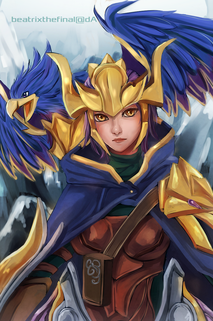 League of Legends: Quinn and Valor by BeatrixTheFinal