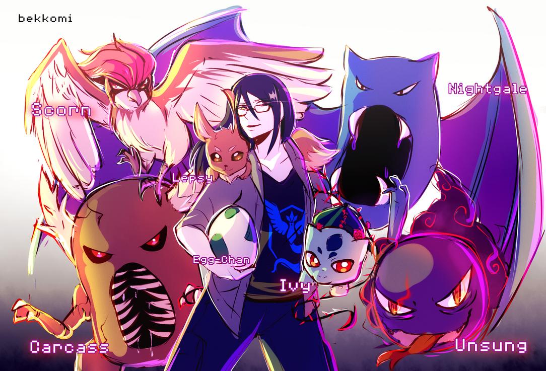Pokemon Goooooooo!!! by bekkomi