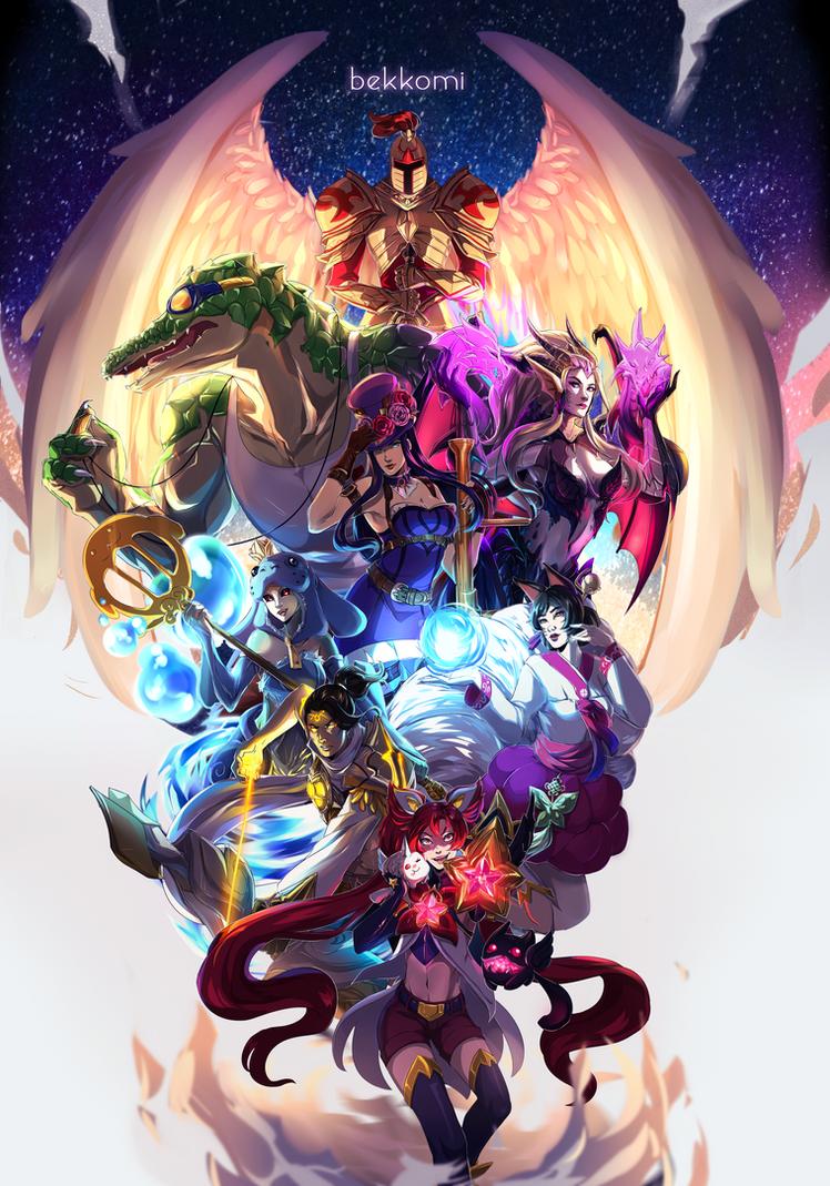 League of Legends Confessions Blog Mod Art by bekkomi