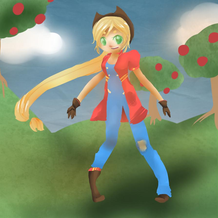 Applejack by CaptainGiraffy