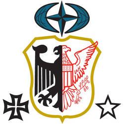 Emblem Germany and USA 2 by HealyAnimation