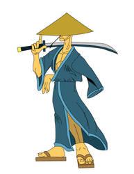 Flats Samurai by HealyAnimation