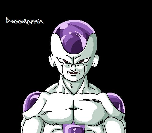 Frieza MS Paint by DOGGMAFFIA