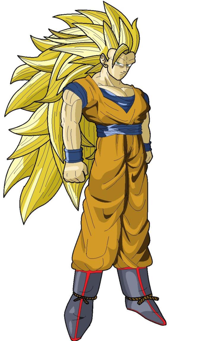 Goku ssj 3 MS Paint by DOGGMAFFIA