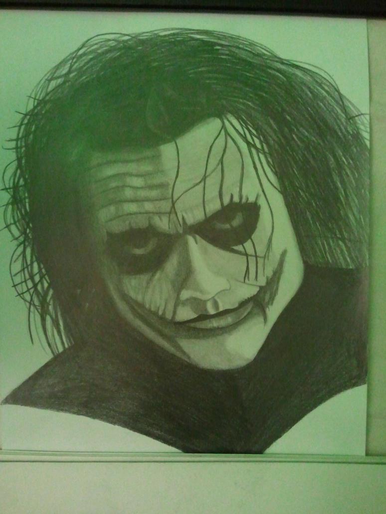 The Joker Realistic Portrait by DOGGMAFFIA