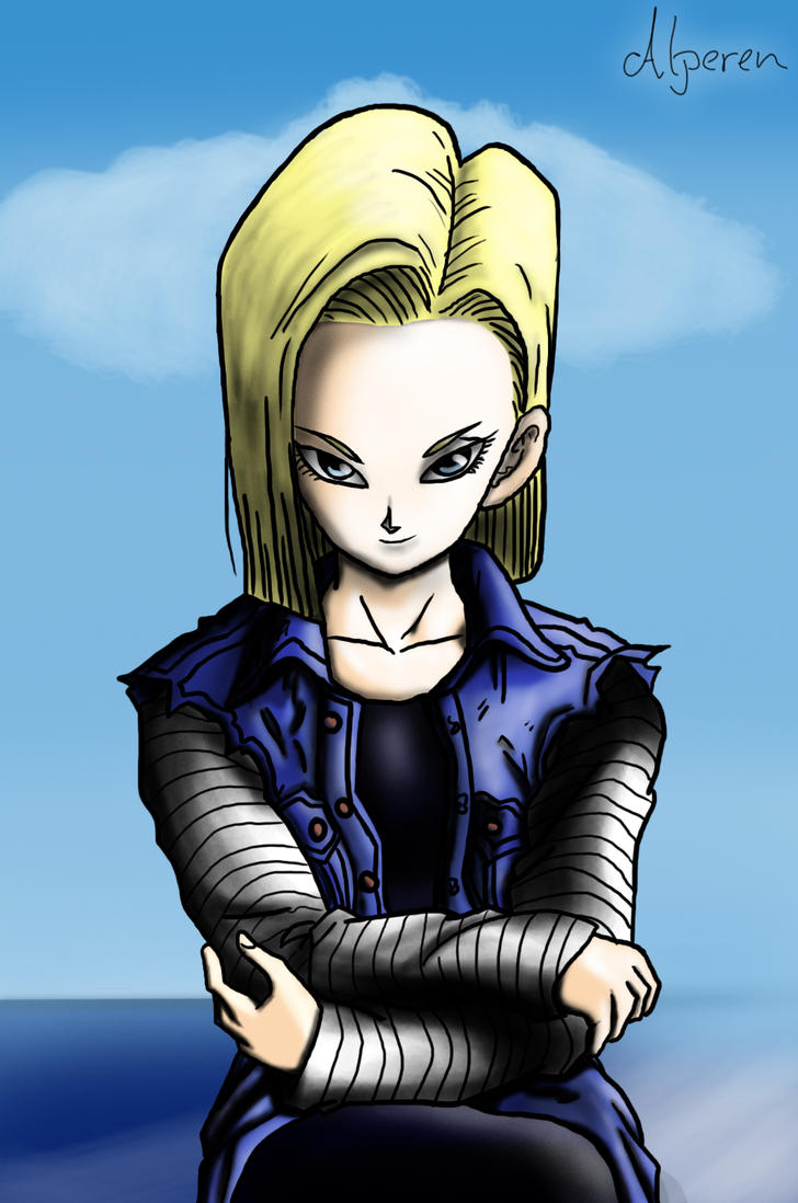 Android 18 by DOGGMAFFIA
