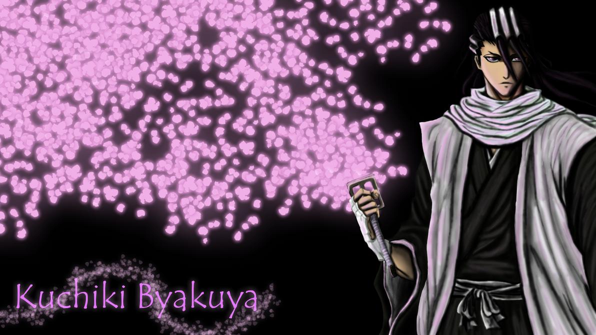 Byakuya Kuchiki New Look Wallpaper Byakuya Kuchiki Wallpaper by