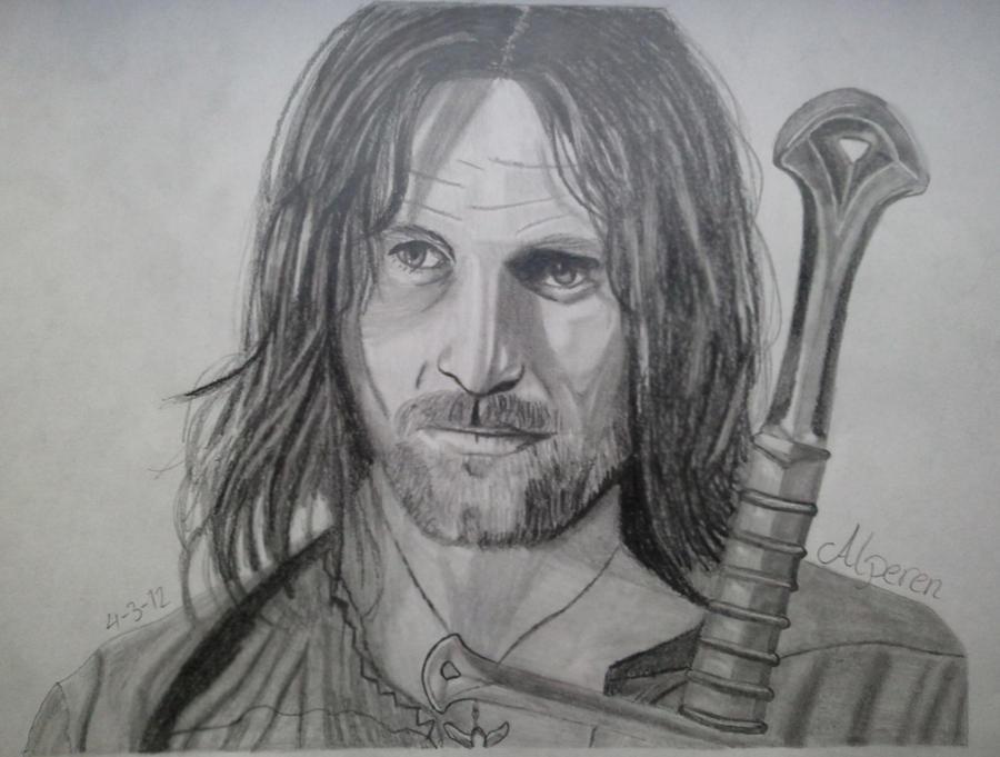 Aragorn, Son of Arathorn by DOGGMAFFIA