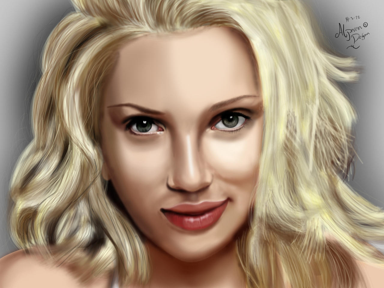 Scarlett Johansson by DOGGMAFFIA