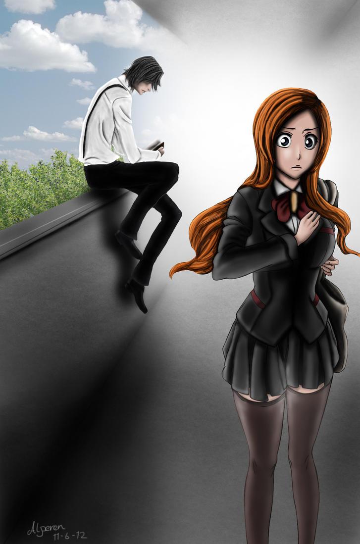 Inoue And Tsukishima by DOGGMAFFIA