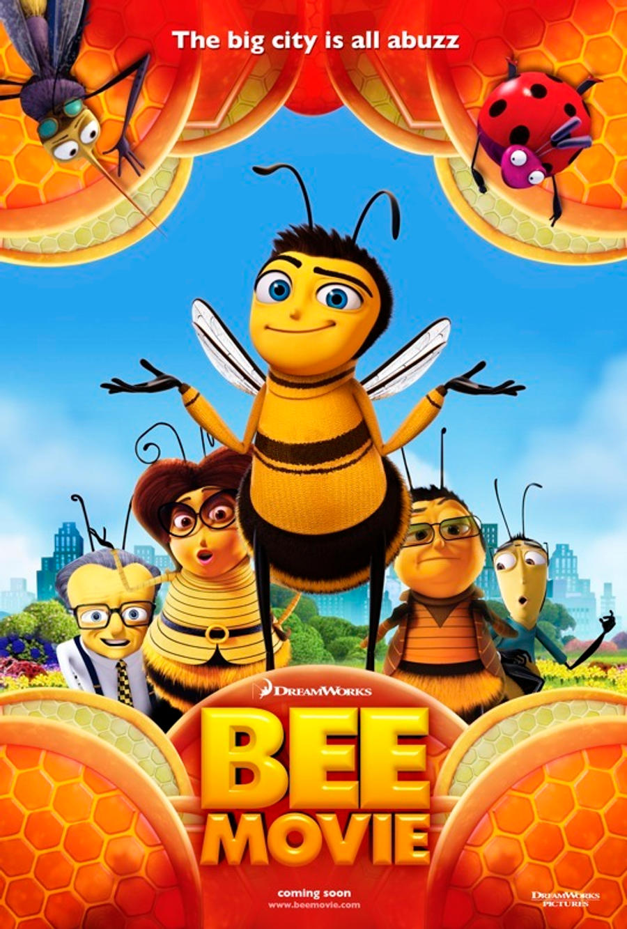 bee movie movie review reviews and rants