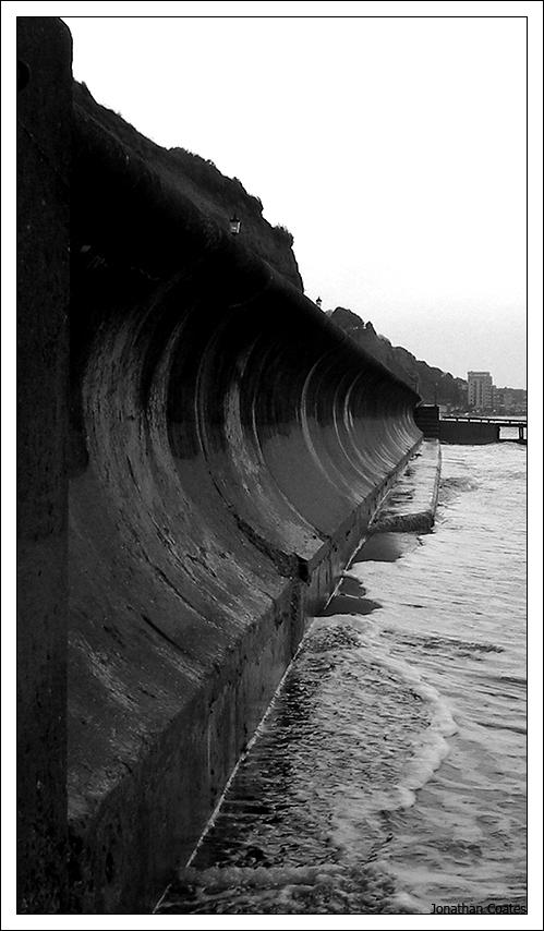Sea Wall by Poser1005
