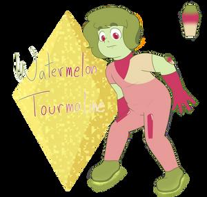Watermelon Tooourmaliiiiine by LynnesGalaxy