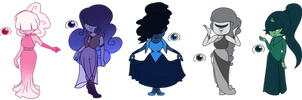 Sapphire Adopts! (OPEN 1/5) by LynnesGalaxy