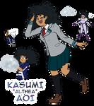 Kasumi Aoi - BNHA OC