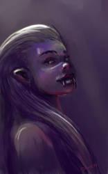 Vampire by Drawmerix