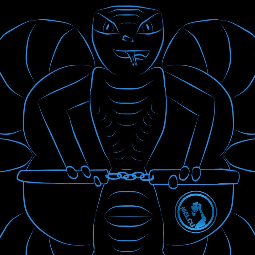 Cobra Manga Wallpaper: Blue Cobra #Manga Studio EX 5 By Melcubanut On DeviantArt