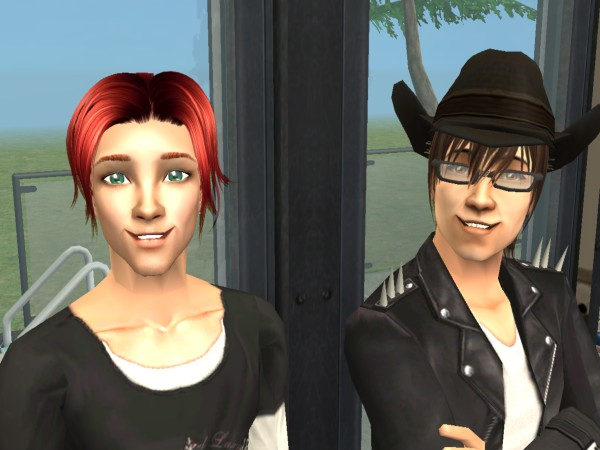 Dill and Zane by MakoHeadrush