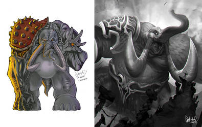 Elephanto monsuta MK2 WIP