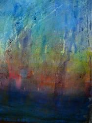 Water color, wax