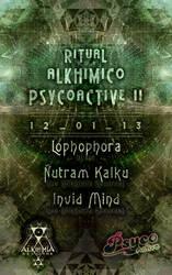 Flyer - Ritual Alkhimico Psycoactive II