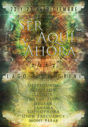Flyer - Ser Aqui Y Ahora 2012