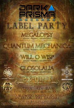 Dark Prisma - Label Party